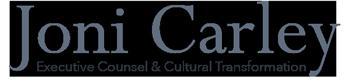 Joni Carley, Executive Counsel & Cultural Transformation